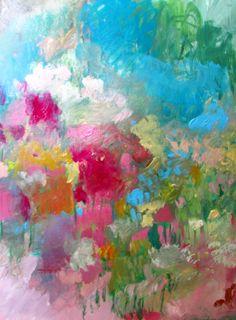 field of wildflowers (on paper) 18 x 24 wendy mcwilliams