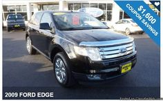 2009 FORD EDGE / $1,600 IN COUPONS ! Big Savings available!!