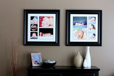 creative wall displays | get those photos off your hard drive photo clickin moms