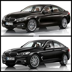 Yhe Bavarians are offering a versatile, and fairly good looking, 3 Series Gran Turismo, and on the other hand, the elegant and sporty-looking 4 Series Gran Coupe.