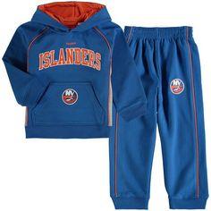 New York Islanders Reebok Toddler Classic Fan Colorblocked Fleece Set - Royal - $44.99