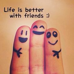 Life is better with friends...I have the most amazing friends! I am blessed <3