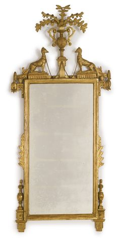 An Italian neoclassical carved giltwood mirror Florence, circa 1790 Sotheby's