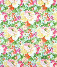 Waverly Blossom Boutique Aurora Fabric - $15.2 | onlinefabricstore.net