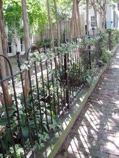 Wrought-iron fence, Georgetown VA