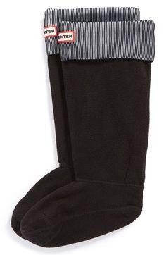 Women's Hunter Pleated Cuff Welly Socks