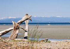 Rathtrevor Beach, Parksville, Vancouver Island
