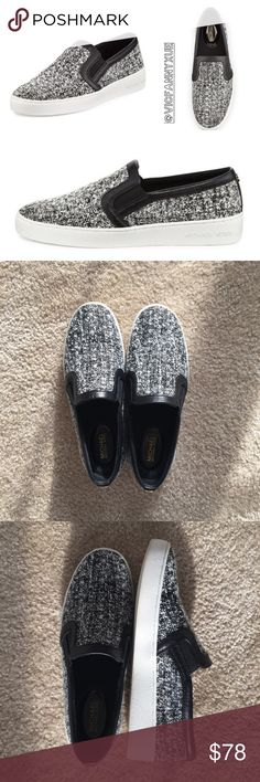 MICHAEL Michael Kors tweed sneakers 7 Only worn once for 30 minutes, current season,❌NO TRADE‼️ MICHAEL Michael Kors Shoes Sneakers