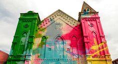 La ville de Washington a confié une mission peu banale au street artiste américain Hense.