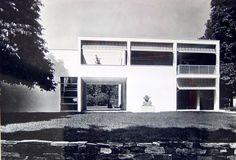 """Casa sul lago per l'artista alla """"Mostra dell'abitazione"""", V Triennale di Milano, Milano"""
