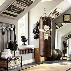 buy here http://rstyle.me/n/bg5h263pme -  How cool would be to have a #classic gym like this  [ http://ift.tt/1f8LY65 ]