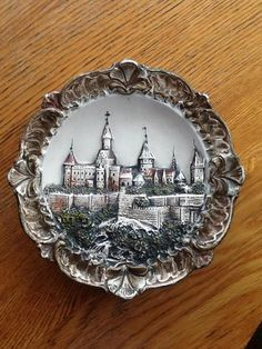 """Can anyone identify this castle? This plate (?) has been in our family for at least 100 years. It is about about 7"" in diameter and I know ..."