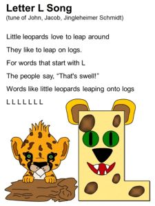 Letter L Song Lyrics