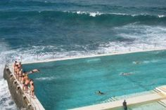 Bondi Beach, Australia - Tasman Sea - this is a public pool so feel free to try it out during your travels!