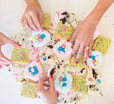 Read on to see the three prettiest pastel desserts that would be a guaranteed hit at your Easter brunch festivities…