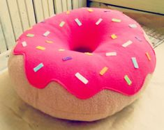 Almohada de gato gatito gato Donut almohada por FainyiaShtuchki