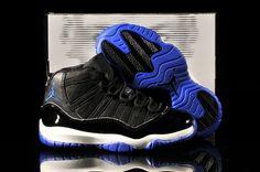 301bf847a14720 Kids Jordan 11 Retro Black Royal Blue