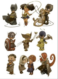 """""""Little Heroes World"""" by Alberto Varanda - Blog/Website 