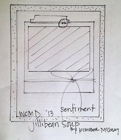 Kimber McGray -WCMD 2013 -Sketch #2 via Jillibean Soup Blog