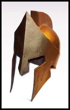 Paper mache spartan helmet - I MUST AQUIRE THIS INGENIOUS ARTIFACT!!!!!