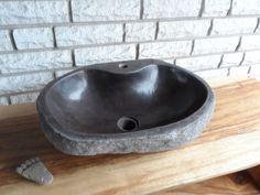 Design Natursteinwaschbecken, Handwaschbecken,Gäste-WC, No.21 UNIKAT! Unsere DESIGN - Waschbecken sind absolute Unikate mit einer ganz außergewöhnlichen DESIGNform, rustikaler Steinstruktur und...