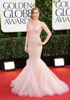 {Golden Globe Week} Amy Adams Red Carpet Style