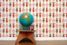 Robots Wallpaper - Aimee Wilder | domino.com