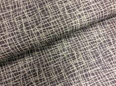 """Stoff grafische Muster - BW Jersey """"SCAFFOLDING"""" hellgrau-weiß - ein Designerstück von Die-Stofftante bei DaWanda"""