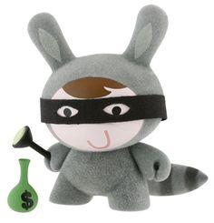 Kidrobot Endangered Dunny Raccoon Michelle Valigura