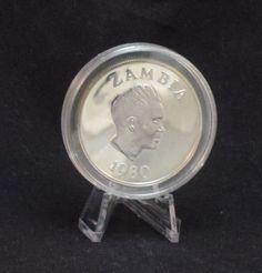 International Year of the Child IYOTC silver coin Zambia 10 Kwacha 1980