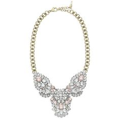 Celestial Frost Statement Necklace. I love girly things and this piece is just beautiful. get it now at: www.chloeandisabel.com/boutique/bee