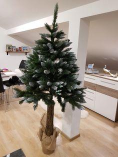 CHOINKA SZTUCZNA NA PNIU SOSNA DIAMENTOWA 180 CM 7452502469 - Allegro.pl - Więcej niż aukcje. Christmas Tree, Holiday Decor, Diy, Home Decor, Noel, Teal Christmas Tree, Build Your Own, Homemade Home Decor, Bricolage
