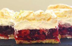 Kruche ciasto, maliny z galaretką, krem z mascarpone i bitej śmietany i delikatna beza. Połączenie wielu pysznych smaków w jednym cieście. Bezę i kruche ciasto najlepiej przygotować wcześniej i kilka…