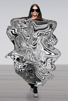 : Grafik und futuristisches Design - RG OWN von Lu K Vilar Foto Fashion, 3d Fashion, Weird Fashion, Runway Fashion, Ideias Fashion, Womens Fashion, Fashion Design, Fashion Collage, Moda 3d