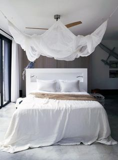 33 Incredible White Canopy Bedroom Ideas [ Wainscotingamerica.com ] #bedroom #wainscoting #design