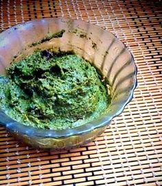Kothamalli Thogayal   ( Fresh coriander leaves chutney )