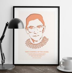 Ruth Bader Ginsburg Quotes - Girl Power - Wall Art - Nevertheless She Persisted - Feminist Gifts - Law School - Home Decor - Art Prints