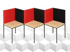 Modular bench ILLUSION Collection by 22 22 EDITION DESIGN