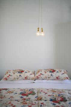 Jo Headington Floral Bedding, Linen Bedding, Floral Bedroom, Linen Bedroom,  Duvet,
