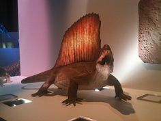 In our very first segment of Weird (Careers in) Science, meet the man behind the Dimetrodon — the sculptor, that is!