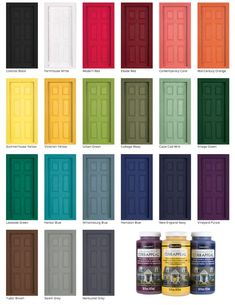 tackle those outdoor home maintenance chores and spruce up your home for spring learn how to paint a door without removing it and the best paint to use to add instant curb appeal to your home - The world's most private search engine Exterior Door Colors, Front Door Paint Colors, Painted Front Doors, Exterior Doors, Paint For Front Door, Colored Front Doors, Blue Front Doors, Coloured Doors, Best Front Door Colors