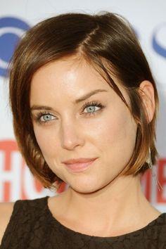 Jessica Stroup short haircut
