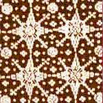 The motifs of Jlamprang or the so-called Nitik in Yogyakarta is one of the well-known batik produced in the area of Krapyak Pekalongan. This batik is the development of a Potola's cloth motif from India which is geometric and sometimes in forms of stars or wind direction and use branch at the square ends. This Jlamprang Batik is eternalized as one of the street in Pekalongan.