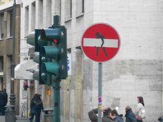 Funny Graffiti in Rome