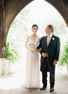 Romantic English Countryside Wedding