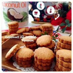 ついに完成!理想のココナッツオイルクッキー♡