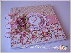 Livro de assinaturas por Eliana Brands: Livro de assinaturas e mensagens para maternidade - Floral com coroa