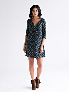 Seriously the best fair trade dress - Tuscan Tunic Dress Pacific from Mata Traders