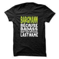 (BadAss) BARGMANN T-Shirts, Hoodies (22$ ==► Order Here!)