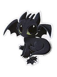 HOTTOPIC.COM - How To Train Your Dragon 2 Toothless Sticker